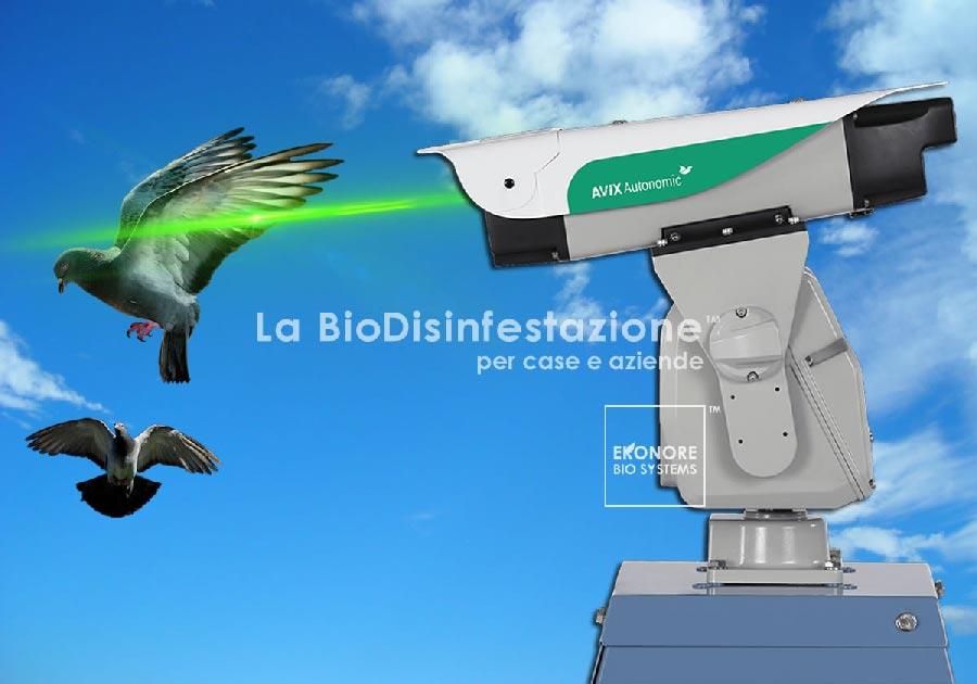 Dissuasore Laser allontanamento volatili Milano