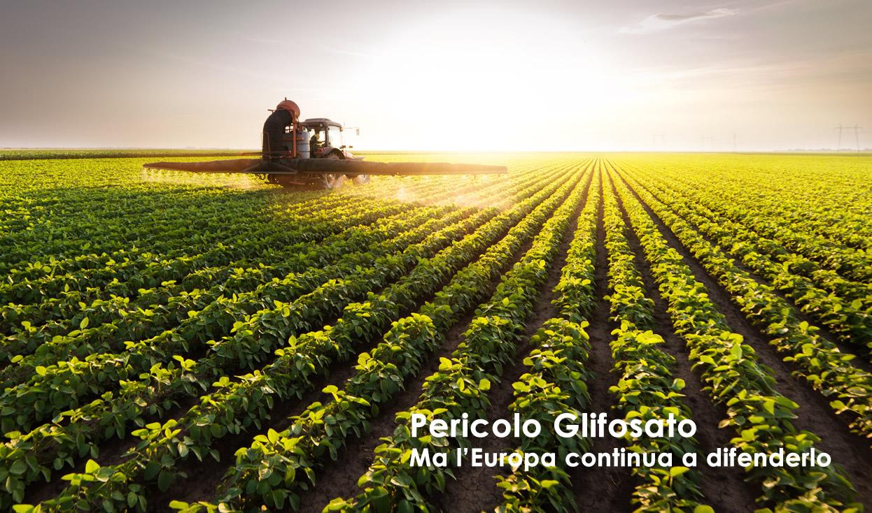 Pericolo glifosato pesticidiii
